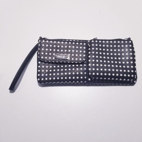 Relic Handbags - Relic Polka Dot Wristlet Wallet